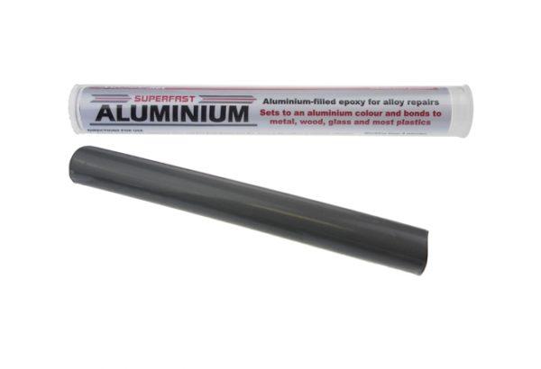 Superfast Aluminium Stick from Sylmasta permanently repairs aluminium quickly and easy