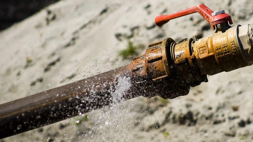 A leaking pipe may be hard to fix durng coronavirus lockdown as plumbers begin downing tools