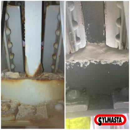 Corrosion protection of the Menai Suspension Bridge carried out with Sylmasta AB Original Epoxy Putty