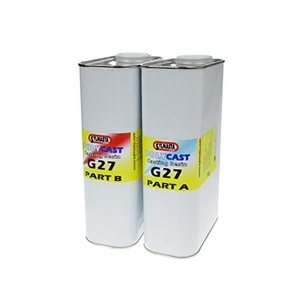 PolyCast G27 WHITE Polyurethane Casting Resin 2kg
