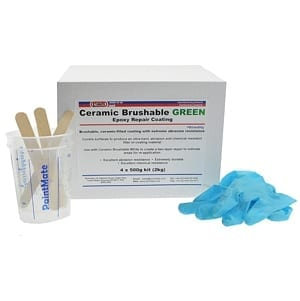 Ceramic Brushable Green Epoxy Coating