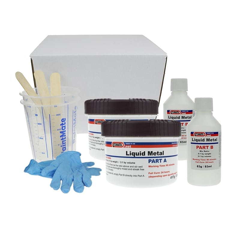 Liquid Metal Epoxy Coating