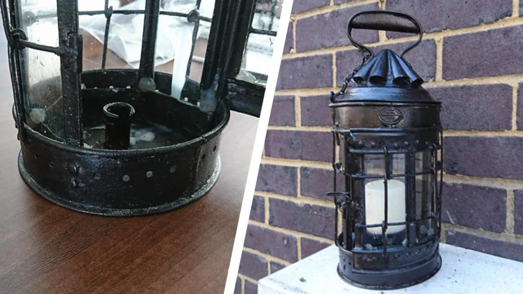 A 19th century lantern restoration undertaken using Superfast Steel Epoxy Putty Stick